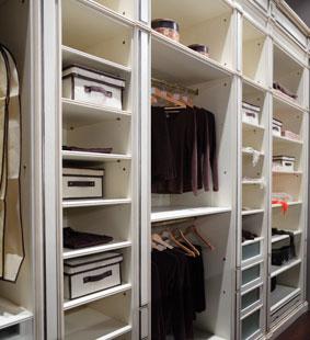 organize home closet